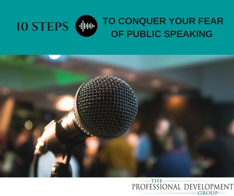 how to conquer fear of public speaking